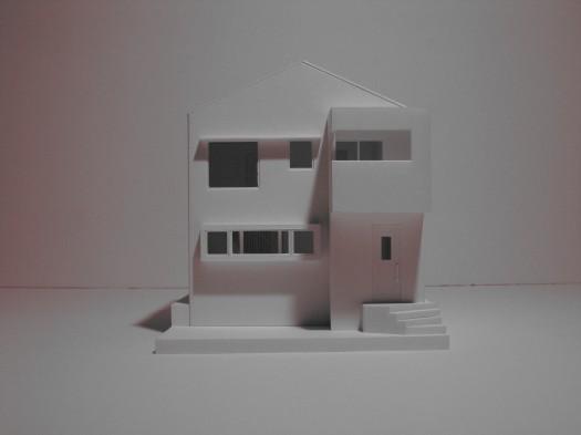 京都市M邸模型写真