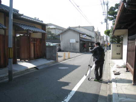 京都市Y邸TV撮影