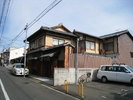 京都市Y邸左官壁