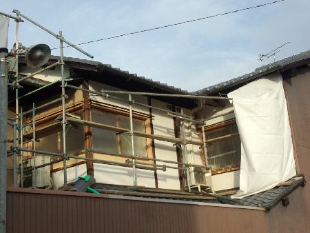 京都市Y邸左官