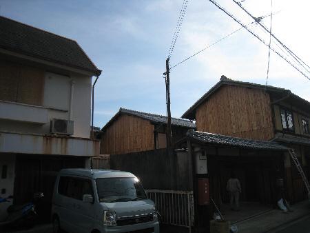 京都市Y邸杉板