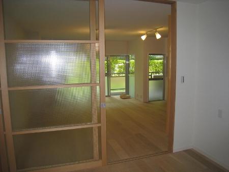 京都市Sk邸クロスガラス