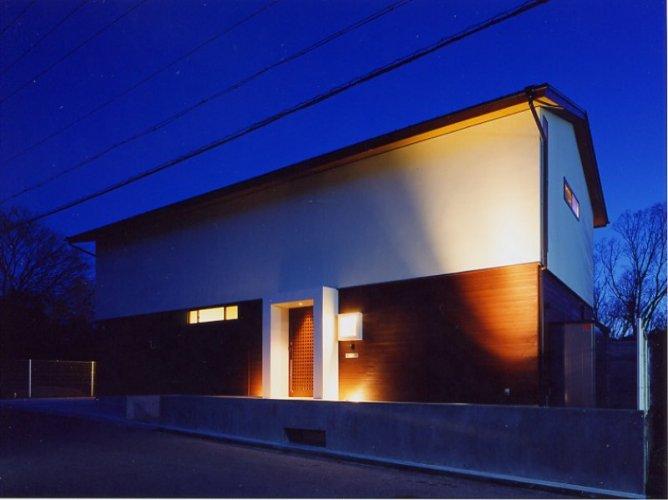 神戸市H邸外観夜景