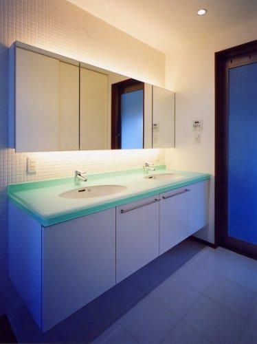 神戸市H邸洗面室