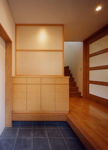 神戸市K邸玄関