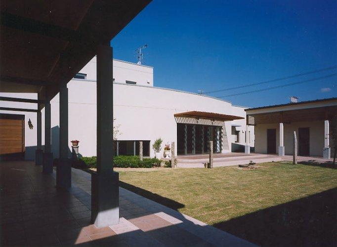 京田辺市M邸中庭