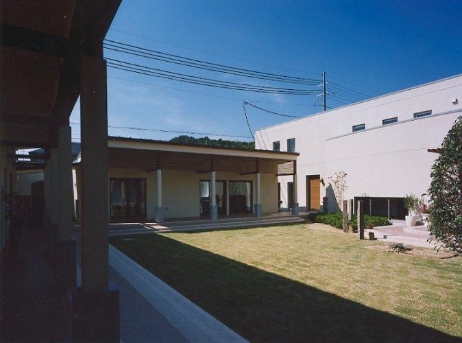 京田辺市M邸中庭2