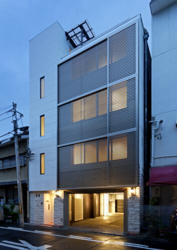 京都市F邸外観夜景