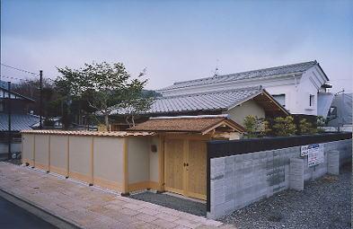 京都市H邸外観