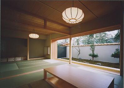 京都市H邸客間