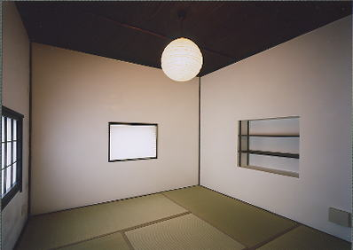 京都市H邸黒の和室