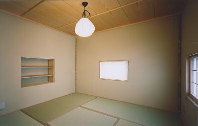 京都市H邸白の和室