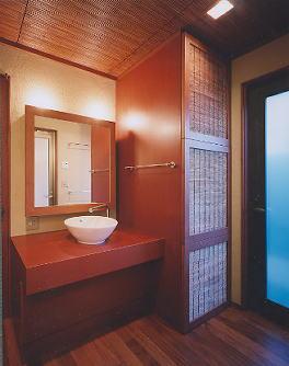 京都市H邸洗面室