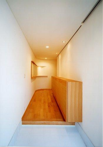 京都市Hg邸玄関ホール