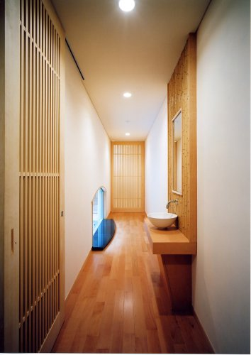 京都市Hg邸渡り廊下
