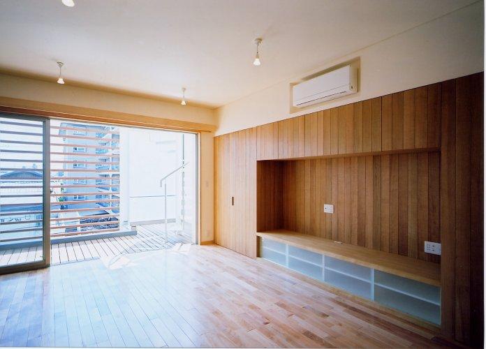 京都市Hg邸リビング