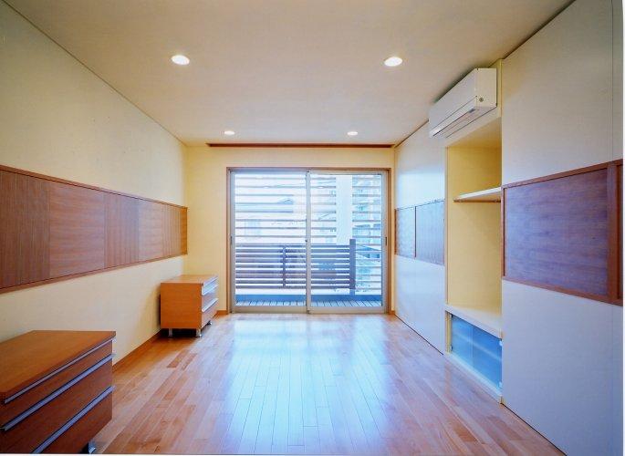 京都市Hg邸主寝室