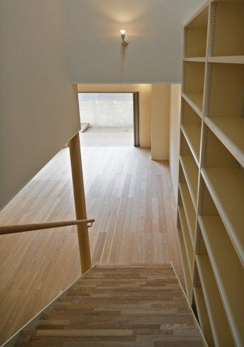 京都市KT邸階段見下ろし