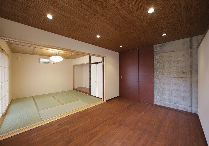 京都市S邸1階リビング