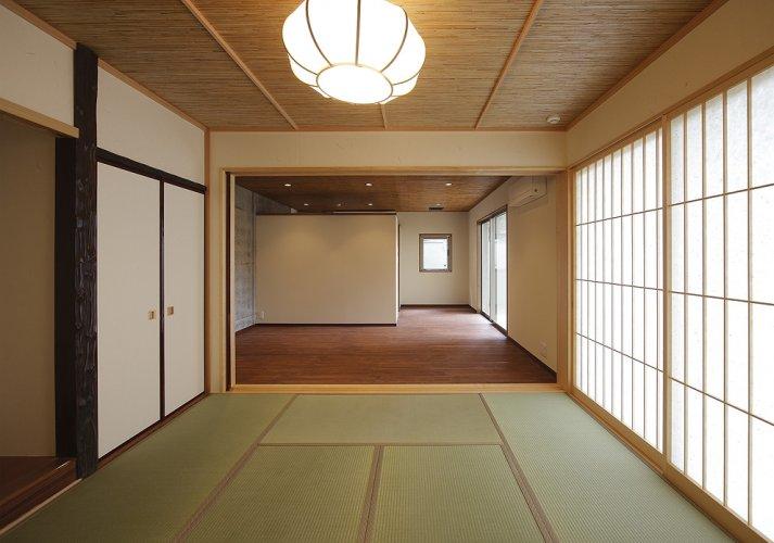 京都市S邸1階和室