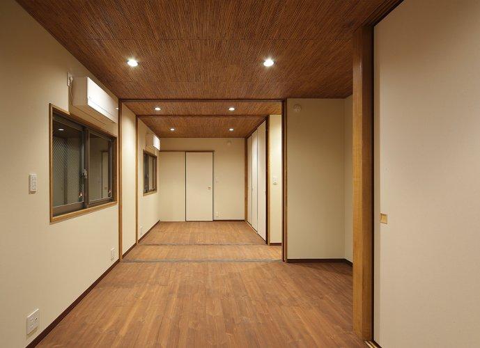 京都市S邸1階個室