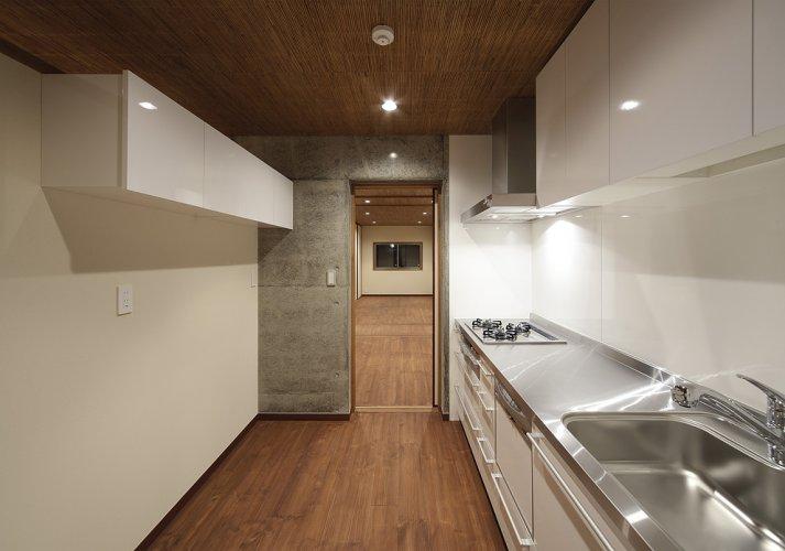 京都市S邸1階キッチン