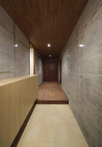 京都市S邸1階玄関