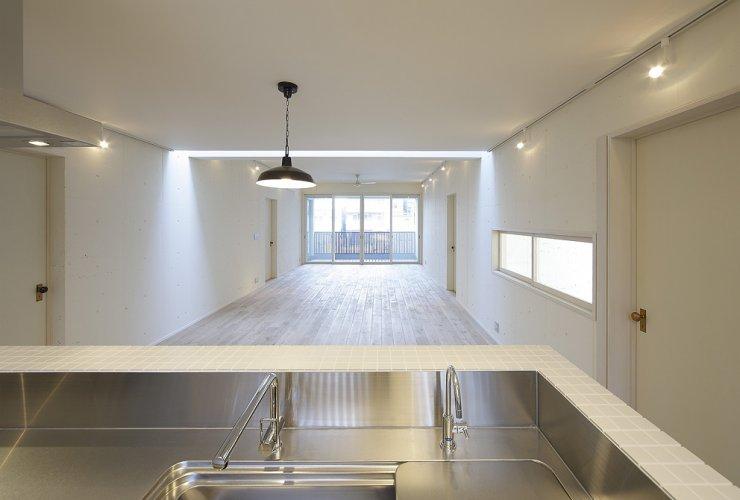 京都市S邸2階キッチン