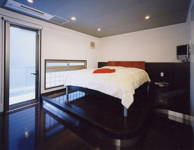 京都市T邸主寝室