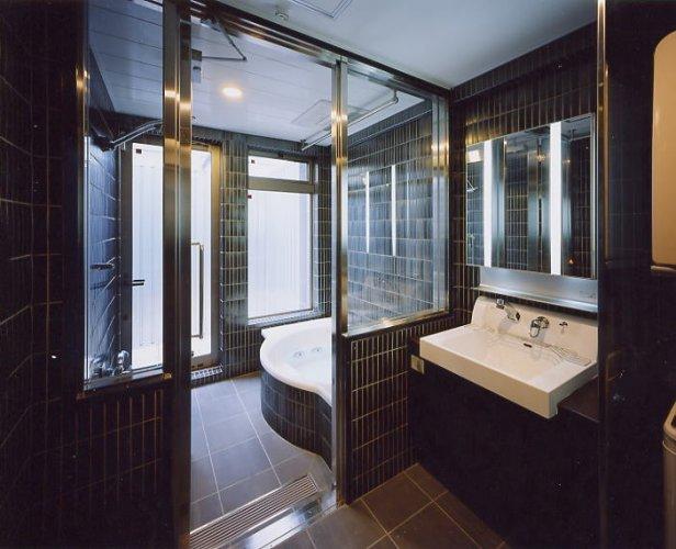 京都市T邸バスルーム