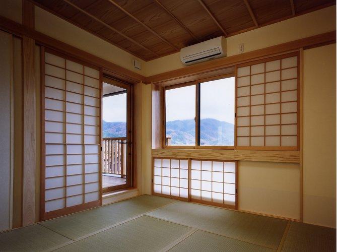 京都市Tk邸主寝室