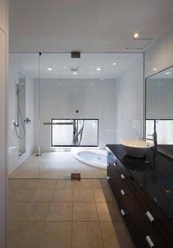 箕面市H邸浴室