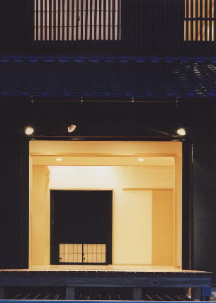 名古屋市T邸外観夜景