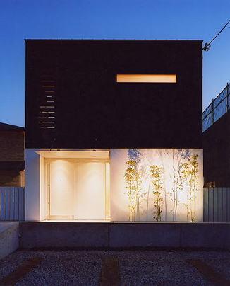 奈良市M邸外観夜景