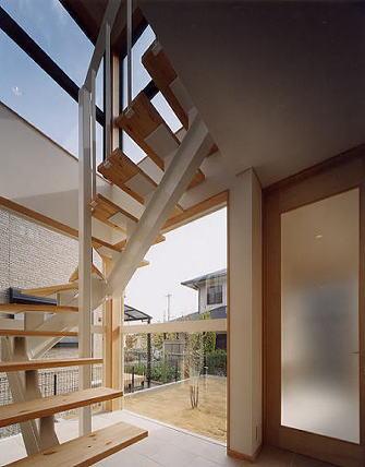 奈良市M邸階段