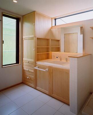 奈良市M邸洗面室