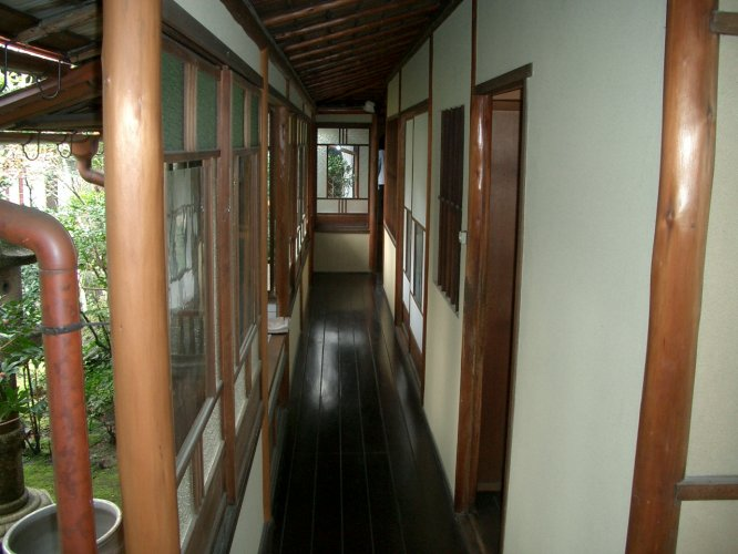 近江八幡市O邸渡り廊下