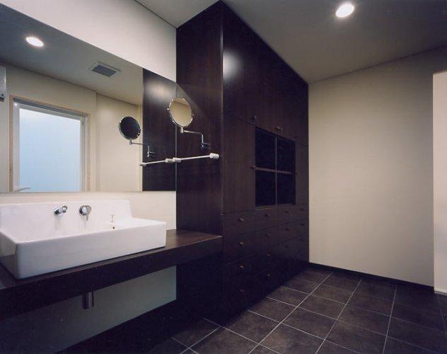 大阪市M邸洗面室